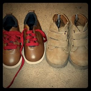 Boys Toddler shoes size 7 Nautica & American Eagle